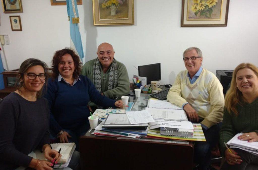 UNVM prepara tutorías en IPEM 147 Manuel Anselmo Ocampo